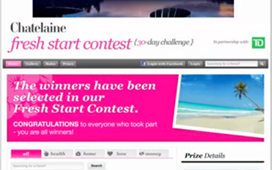 Contest screenshot