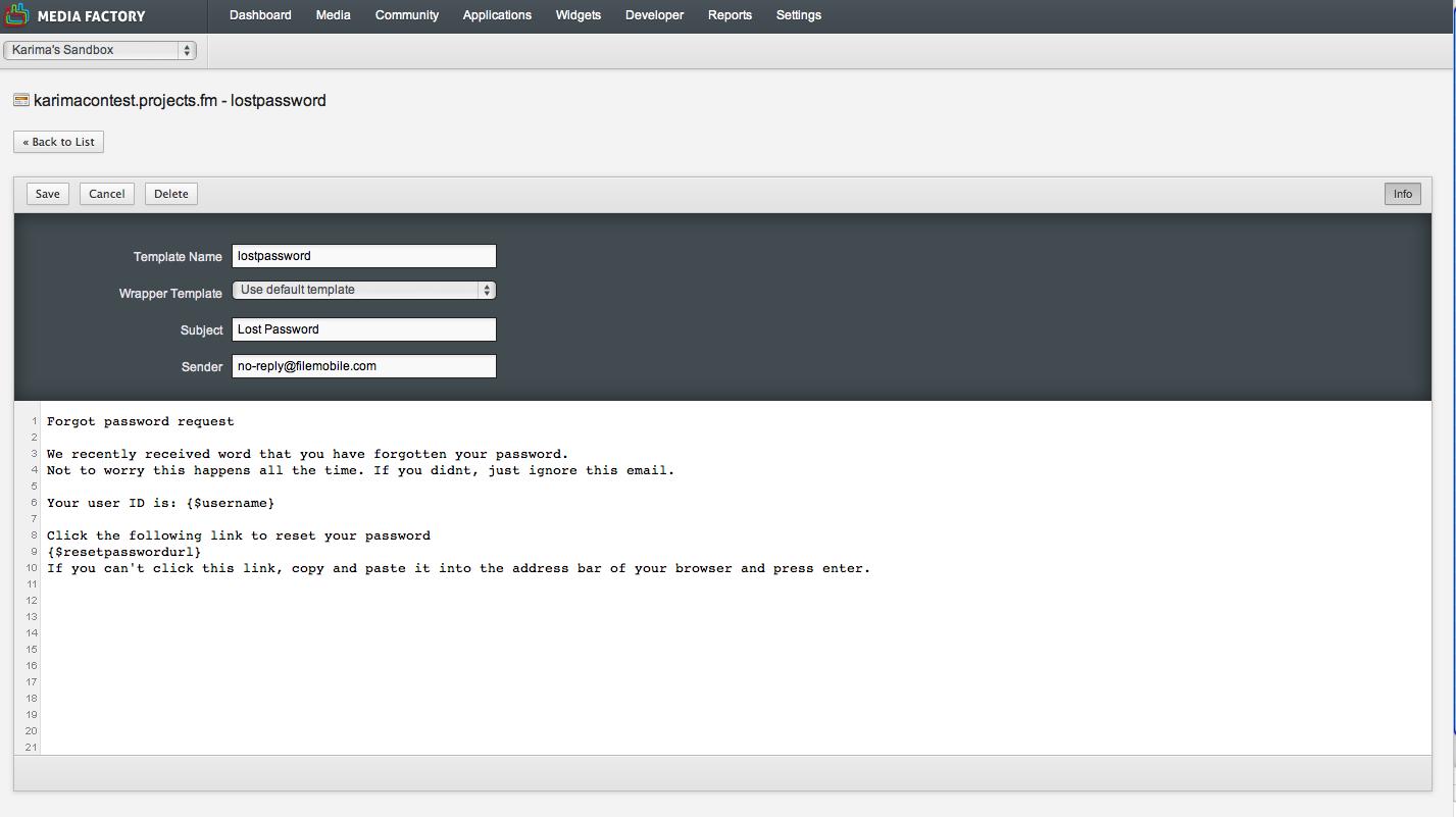 Setting Template Options | CrowdSpark Platform Developer ...