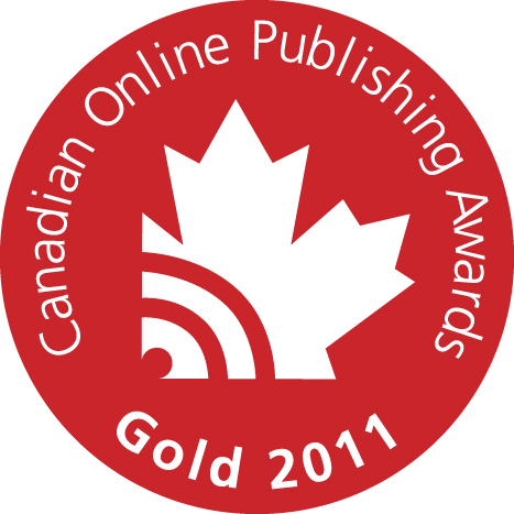 2011 Canadian Online Publishing Awards